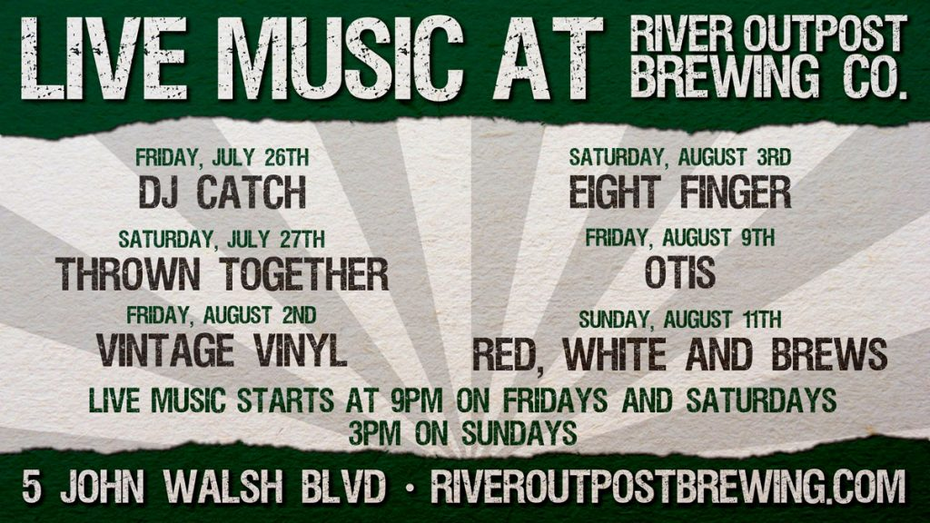 Live Music at River Outpost Brewing Co.