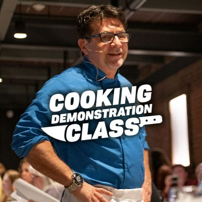 Cooking Demo with Louie Lanza